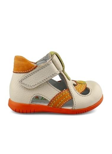 Cici Bebe Ayakkabı Portakal Erkek Çocuk Sandalet Bej